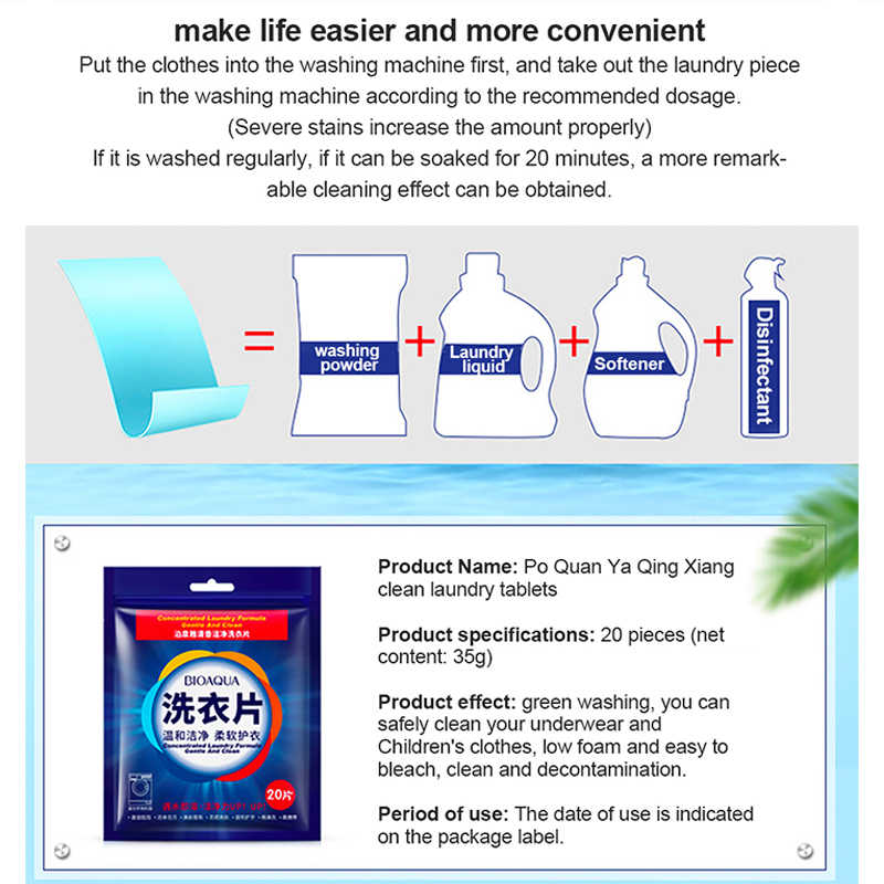 Efficient Detergent New Formula Concentrate Washing Soap