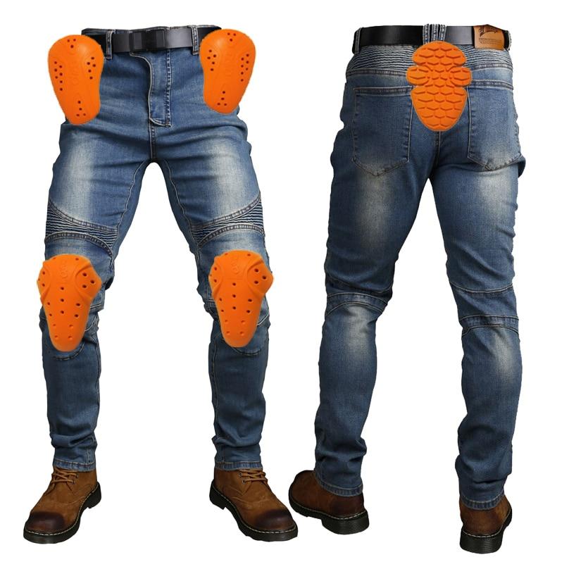 Men's Motorcycle Racing Jeans