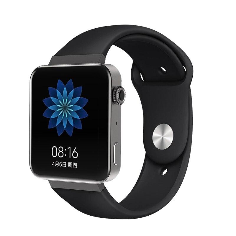 Мягкий силиконовый ремешок для часов для xiaomi smart watch, новинка, сменный ремешок для mi watch, резиновый ремешок для часов, аксессуары - Цвет: 8078