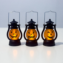 Halloween Vintage Lantern Party Hanging Decor LED Light Lamp Portable Nightlight Guirlande Lumineuse Decorative Lights