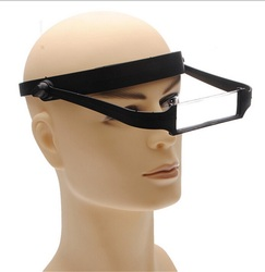 ZLinKJ High Quality 1PCS 1.6x 2.0x 2.5x 3.5x Head Headband Replaceable Lens Loupe Magnifier Magnify Glass