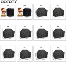 Rain-Protective Grill-Cover Waterproof Weber Charbroil Round 1PC Anti-Dust Heavy-Duty