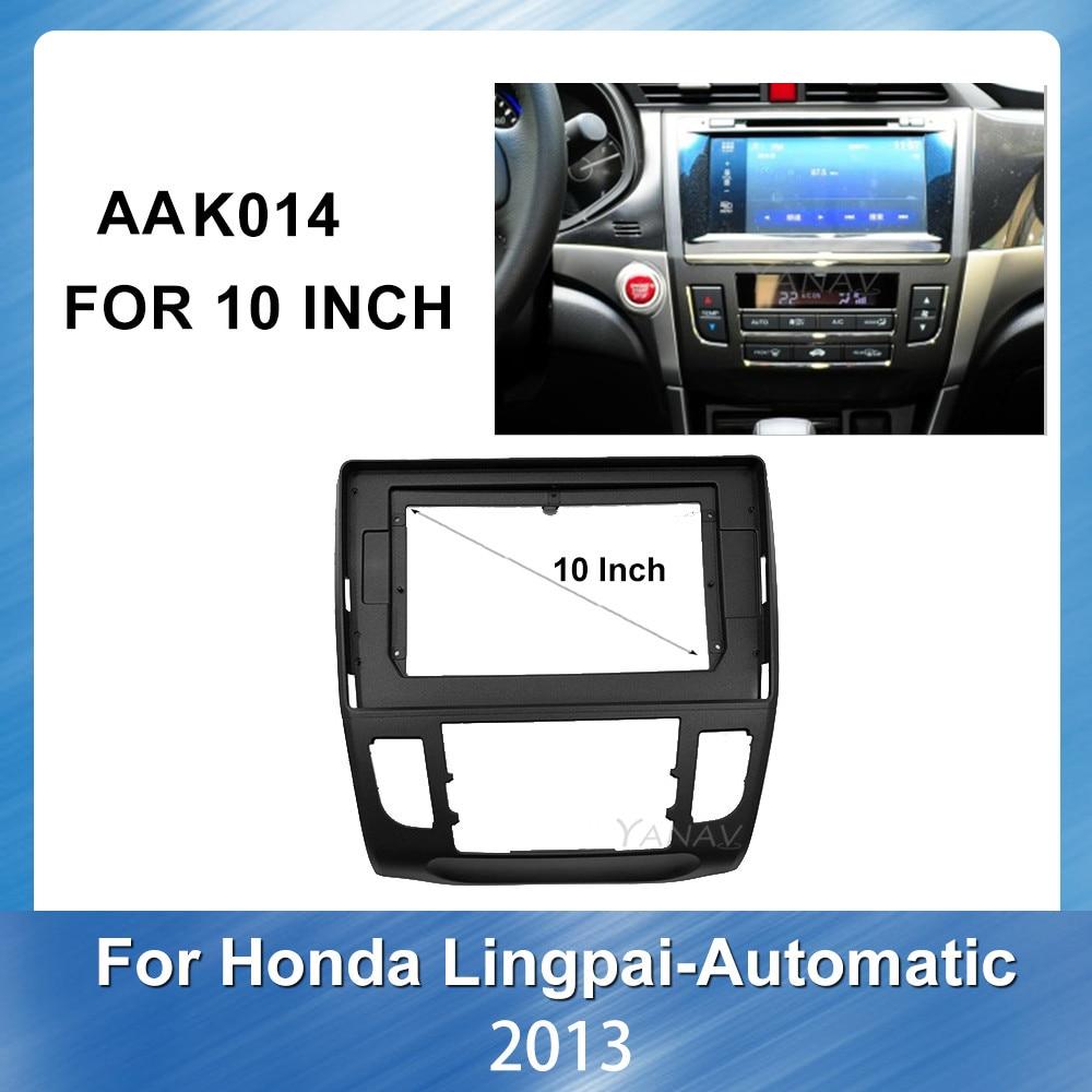 Carradio stereo receiver Face Dash Mount Trim fascia frame for Honda CRIDER 2013 Manual car video player Face Dash fascia frame