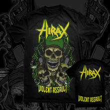 Hirax-ataque violento-camiseta oficial/ataque nuclear d. r. i. Evildead