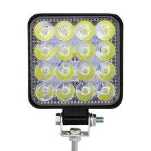 27W 42W LED Work Light Flood Beam Fog Lamps High Brightness for Car Off-Road Driving JA55