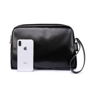Image 3 - Классическая черная сумка для подгузников для мамы, водонепроницаемая Портативная сумка для подгузников из искусственной кожи, стильная сумка для смены большой емкости для ребенка