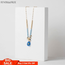 Fever&Free Opal Natural Quartz Healing Stone Water Drop Necklace Women Party Strand Beads Pendant Vintage Jewelry Gifts