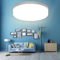 Okrągła plafonowa lampa panelowa LED Suqare powierzchnia oprawa sufitowa 48W 36W 24W 18W montowane na powierzchni Para na oświetlenie do dekoracji domu