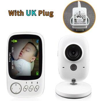Κάμερα ασφαλείας για μωρά με παρακολούθηση θερμοκρασίας Οθόνη 3,2 ιντσών και night vision
