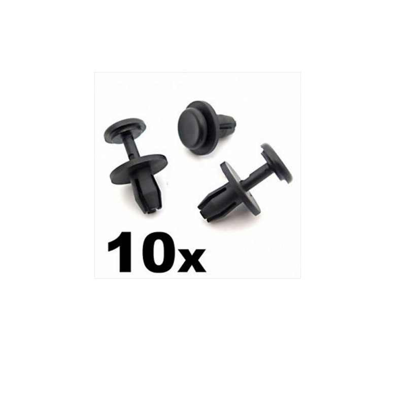 10x Clips For Toyota GM Mounting Clips Wheel Arch Trim Panel Interior Clips