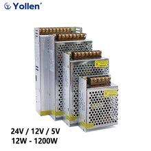 20W/24W/25W Schalt Netzteil Quelle Transformator SMPS AC-DC 220V ZU 5V 12V 24V Adapter Für Led-streifen CCTV Beleuchtung