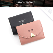 2019 Fashion Wallet Women Purse Female Short Mini Luxury Brand Wallets Korean Students Lovely Small