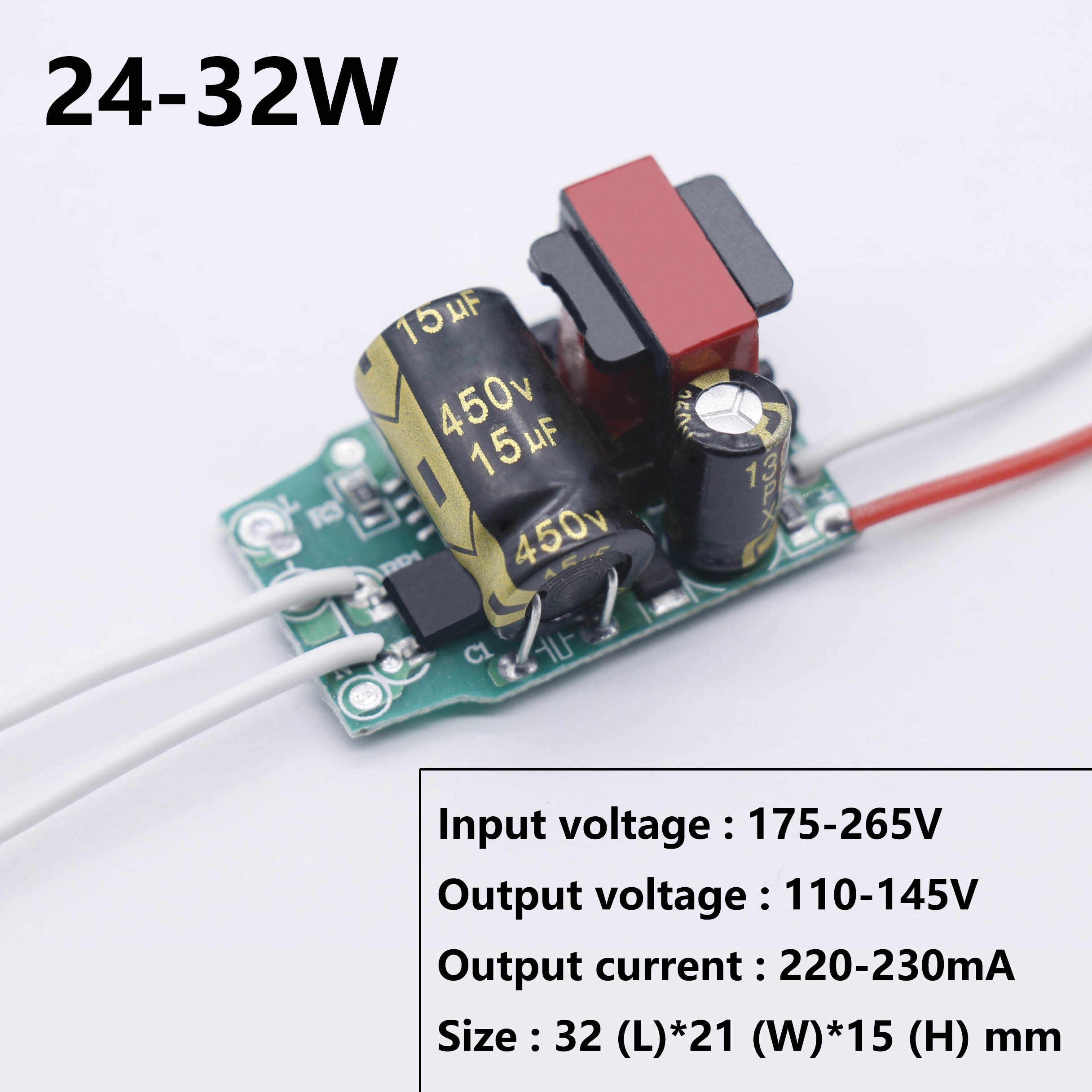 LED Non-isolé conducteur 5 W-40 W 115mA220mA 20-182V LED alimentation AC175-265V LED transformateurs d'éclairage pour LED lampe Blub