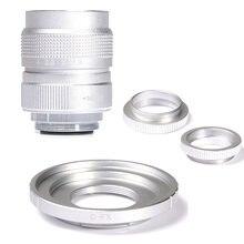 Серебристая линза для камеры видеонаблюдения fujian 25 мм f14
