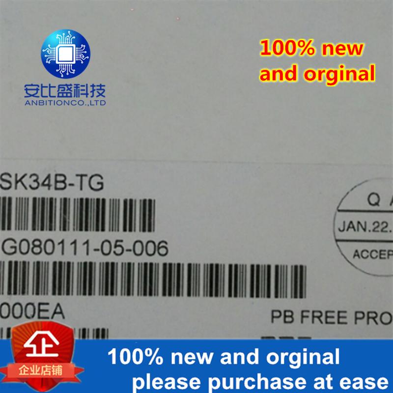 50pcs 100% New And Orginal SK34B DO214AA Silk-screen SK34B In Stock