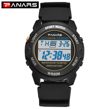 Digital Watch Shock-Alarm Electronic-Watch Waterproof Luminous Men's Relogio PANARS Sport