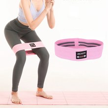 PickUp Women Hip Resistance Bands Booty Leg Exercise Elastic Bands Gym Yoga Stretching Training Fitness Workout No-Roll Up Circle 12 wholesale