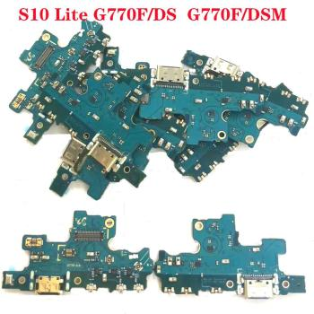Original new For Samsung Galaxy S10 Lite G770F/DS G770F/DSM A90S 5G Charger Charging port Dock USB Connector Data Flex Cable