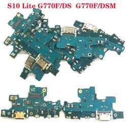 Oryginalny nowy do Samsung Galaxy S10 Lite G770F/DS G770F/DSM A90S 5G ładowarka port ładowania złącze USB złącze danych Flex Cable