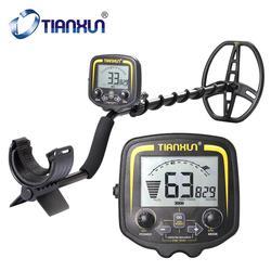 TIANXUN TX-850 Professional Metal Detector Underground Depth 2.5m Scanner Search Finder Gold Detector Treasure Hunter Pinpointer
