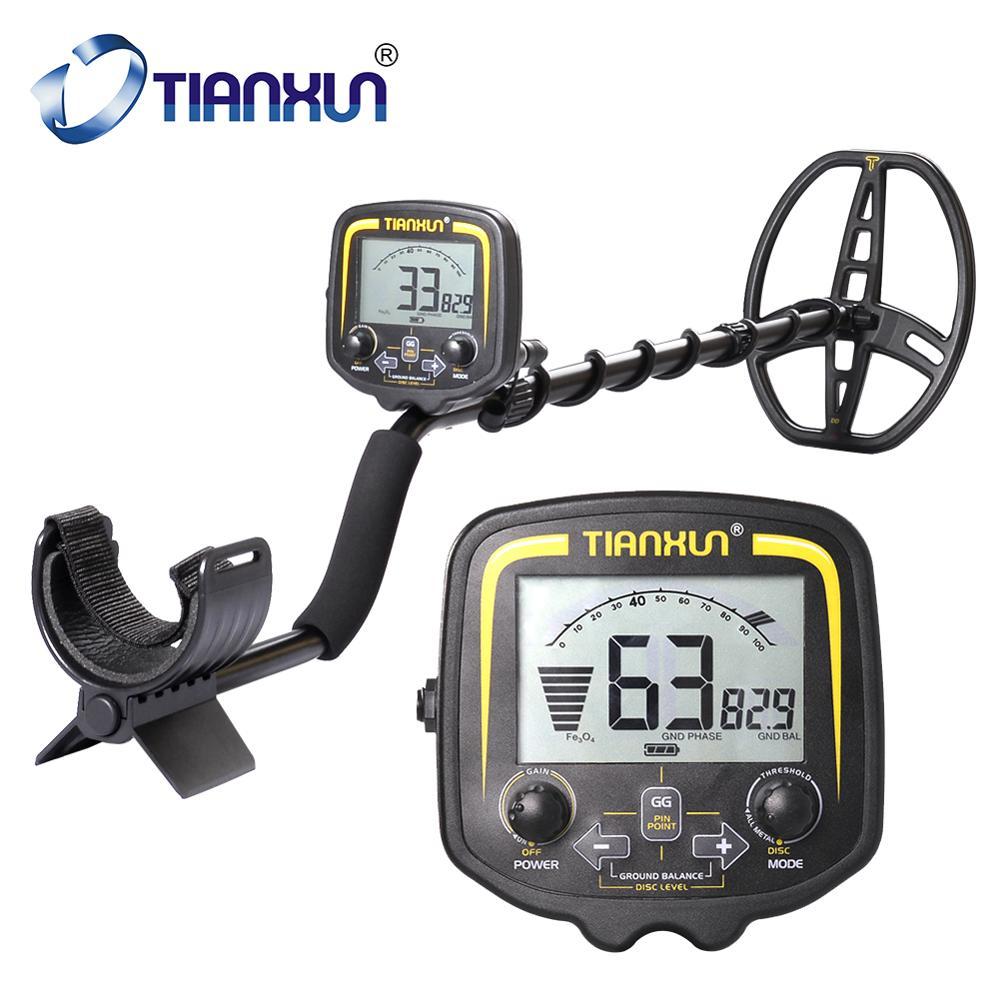 Tianxun Tx-850 Profissional Detector de Metais Subterrâneo Profundidade 2.5m Busca Scanner Ouro Localizador Treasure Hunter Detector de Metais Pinpointer