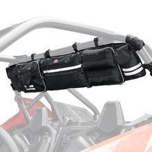 Black Quad Gear UTV Large Roll Cage Organizer Storage Bag for Polaris RZR Ranger for Can-am maverick Commander for Yamaha