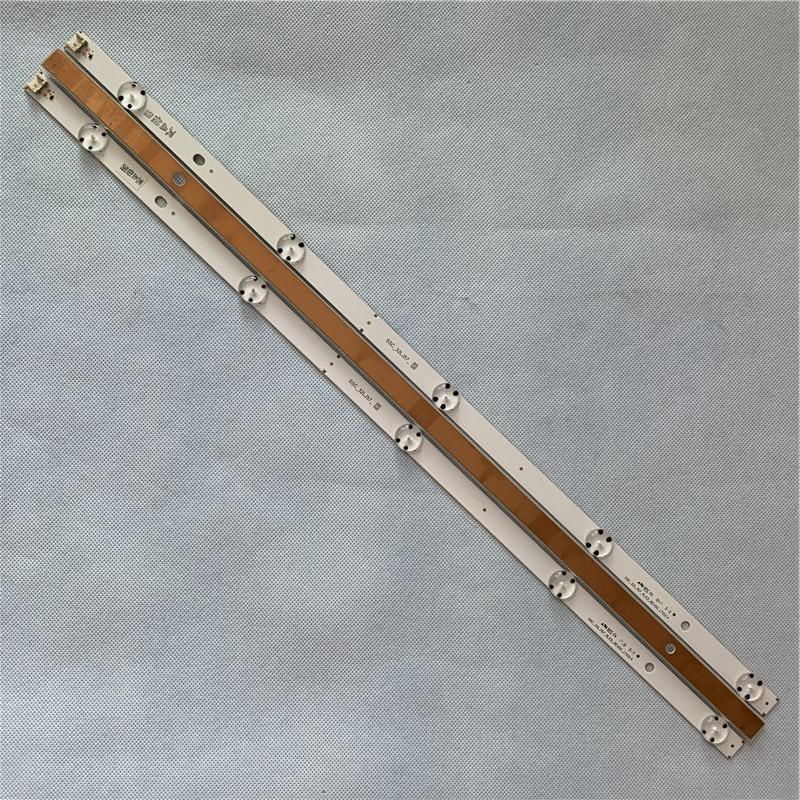 Оптовая продажа 590 мм светодиодный подсветка полосы 5 лампа для LG tv SSC 32LJ57 S EAV63192710 REV00 части тв