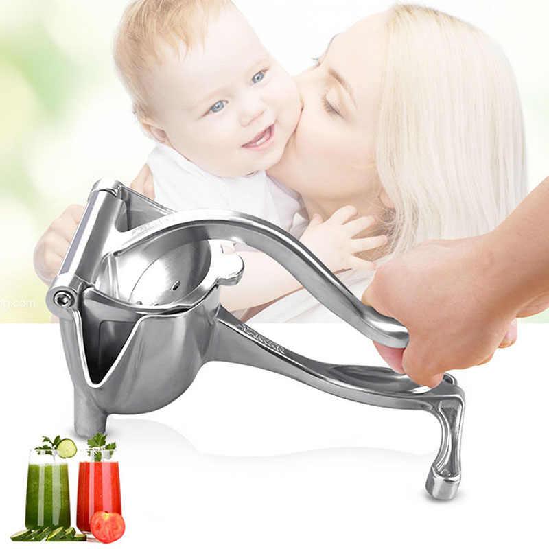 Neue Baby Saft Maschine Babynahrung Mühle Manuelle Entsafter Hand Saft Presse Squeezer Obst Entsafter Extractor Aluminium Legierung Hohe Qualität