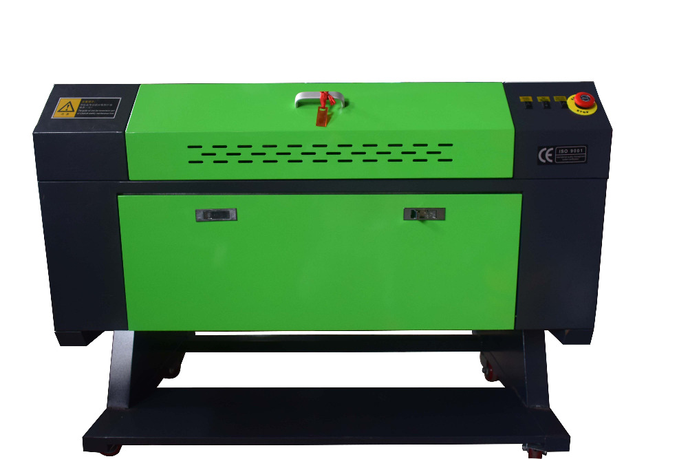60W CO2 USB  700x500mm Engraver Cutting Wood Working Crafts Printer Cutter & WITH ROTARY AXIS