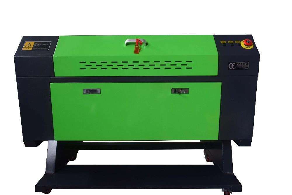 60W CO2 USB 700x500mm Stecher schneiden Holz arbeits Handwerk Drucker Cutter & MIT DREHACHSE