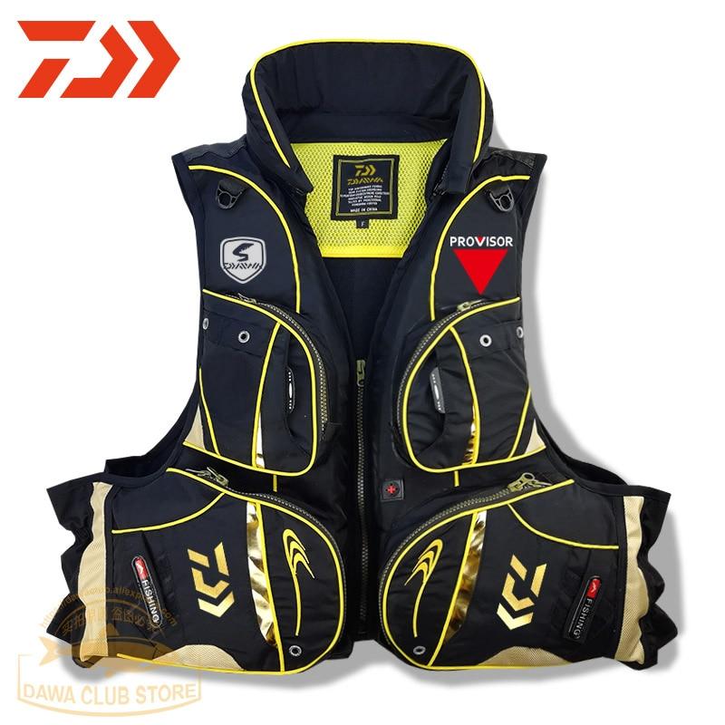 2020 Reflective Vest Fishing Life Jacket UNISEX Large Size Multi Pocket High Buoyancy Fishing Vest Outdoor Survival Life Jacket|Fishing Vests| |  - title=