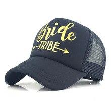 Golden Letters Baseball Cap Women Ponytail Outdoor Hat  Unisex Breathable Summer Fashion Mesh Caps Mens Hip Hop Hats