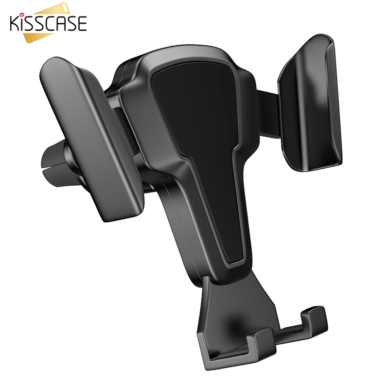KISSCASE Car Phone Holder Stand Air Vent Mount Cell Phone Holder For IPhone 11 Max Samsung S20 Huawei P40 Pro 5G Accessories