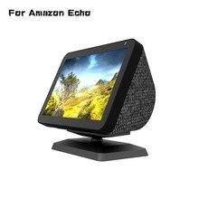 Show Mount Bracket for Echo Show 8 Stand Magic Anti-Slip Base Magnetic Adjustable Rotatable Bracket Speaker Holder Stand