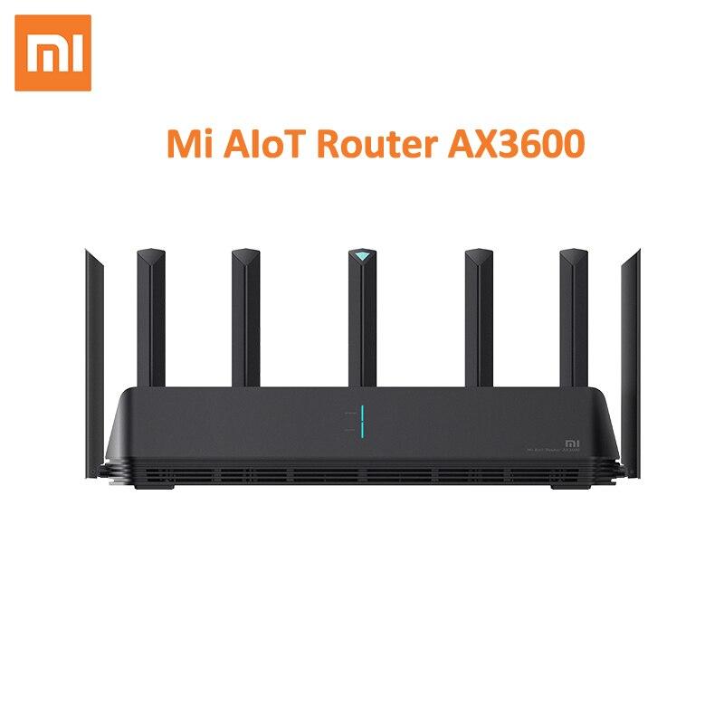Xiaomi AX3600 AIoT Wi-Fi маршрутизатор 6 5G двухдиапазонный 2976Mbs Gigabit Скорость тестирования производительности зарядного устройства Qualcomm A53 внешний уси...
