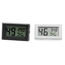 Мини цифровой ЖК-дисплей Крытый удобный Измеритель влажности термометр, датчик температуры гигрометр