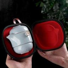 Китайская керамическая чайная чашка кунг фу портативный фарфоровый