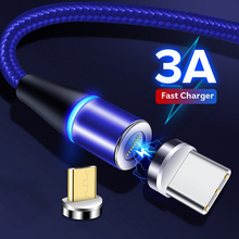 Swalle hot Magnetic Fast Charging USB Cable Type C Cable Mag