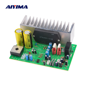Image 1 - AIYIMA STK401 Audio Amplifier Board Amp 140W*2 HIFI 2.0 Channel High Power Amplifier AC24 28V Home Theater Diy
