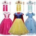 Для девочек; Детский костюм принцессы; Праздничное платье для Хэллоуина вечерние Платье для косплея на Маскировка Fille