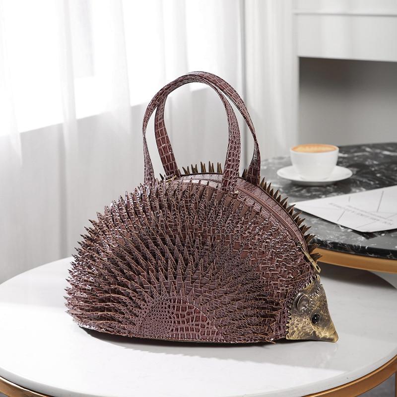 criativo bolsas couro do plutônio sacos ombro