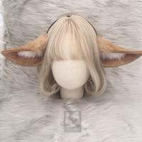 MMGG new Arknights Perfumer cosplay costume accessories rabbit ears headwear hairhoop for girl women