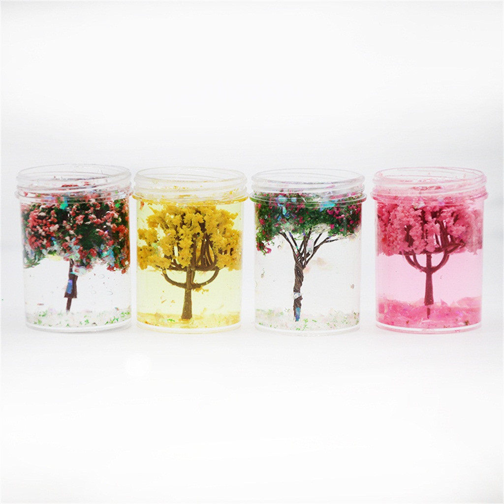 4 PCs New Underwater World Cherry Tree Accessories Child Decompression Toys Creative Anti-anxiety Toy #D