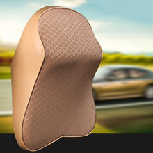 Adjustable Car Neck Pillow 3D Memory Foam Head Rest Pillow Auto Headrest Pillow Travel Neck Cushion Support Holder Seat Pillow(China)