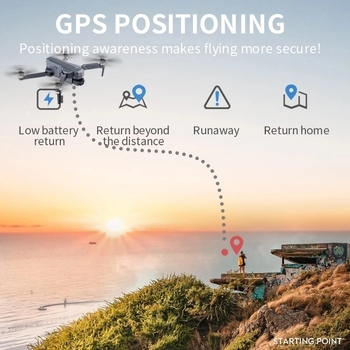 2021 NEW F11 PRO 4K GPS Drone With Wifi FPV 4K HD Camera Two-axis anti-shake  Brushless Quadcopter Vs SG906 Pro 2 RC Dron Toys 5