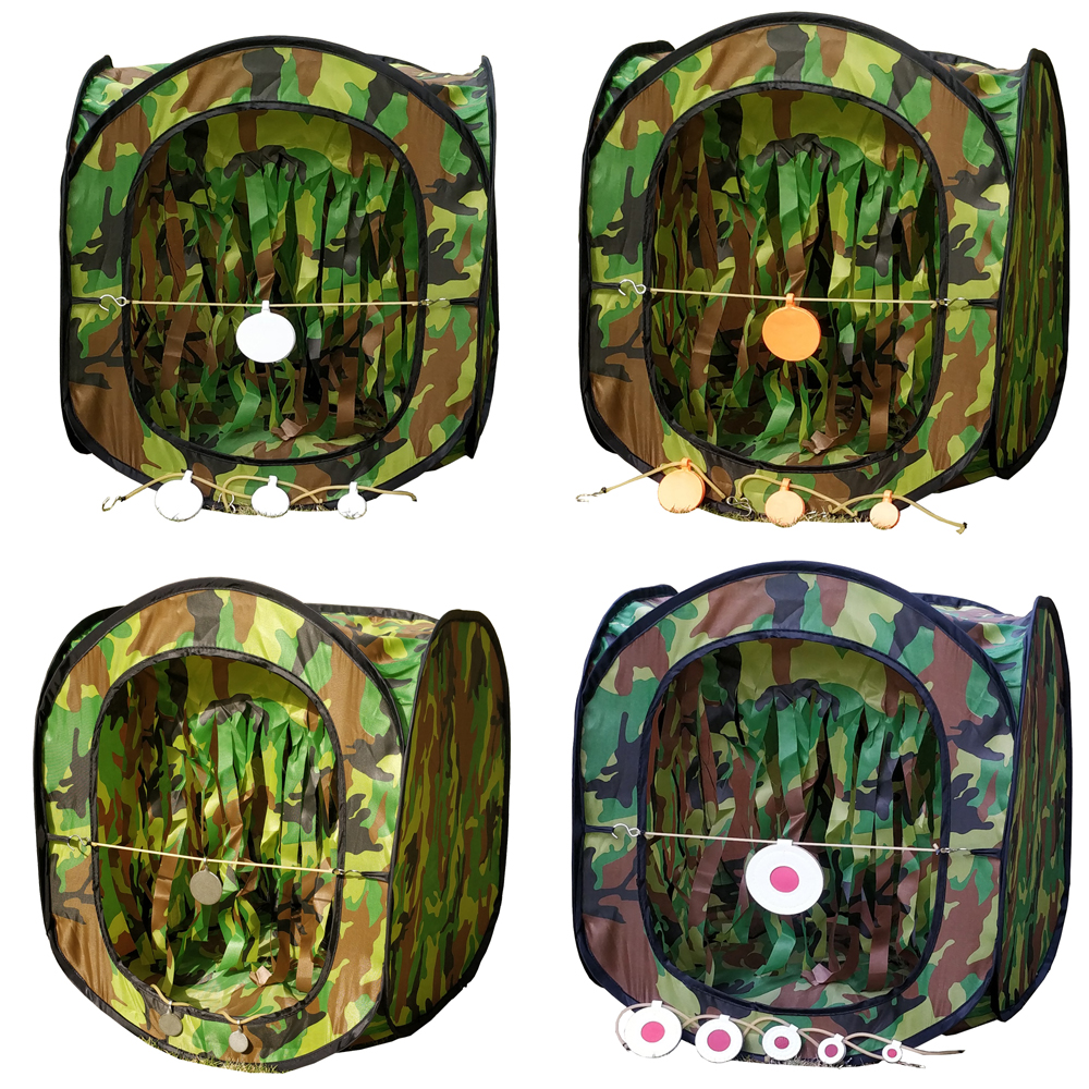 Tent Target With Inner Shooting Target Plates