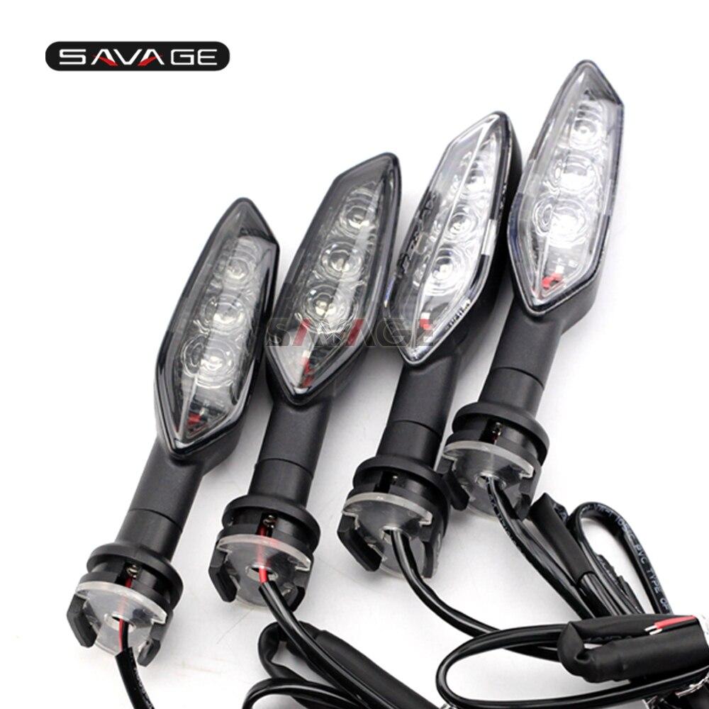 Led sinais de volta luz indicadora para yamaha fz8 fz6 n s r fz1 fazer xj6 desvio/f xj6n tdm 900 acessórios da motocicleta blinker