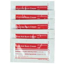 5 pièces 0.9 g/paquet Gel d'onguent antibiotique pour brûlures trousse de premiers soins accessoires pansement crème pour brûlures soin des plaies Anti-infection
