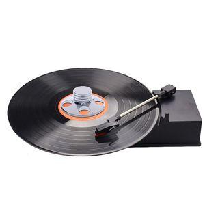 Image 4 - 오디오 lp 비닐 턴테이블 금속 디스크 안정기 레코드 플레이어 무게 클램프 hifi