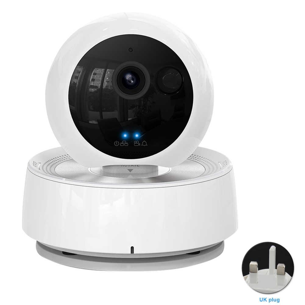 كاميرا IP مراقبة فيديو للحيوانات الأليفة اتجاهين الصوت 1080P HD مراقبة للرؤية الليلية كاميرا ويب ذكية واي فاي أمن الوطن الكلب القط داخلي